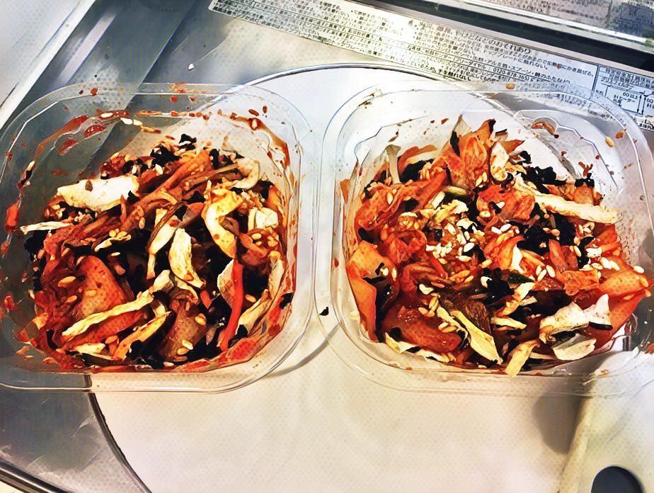 市販のキムチに乾物を混ぜ、「美容キムチ」を作ってみた 【料理】