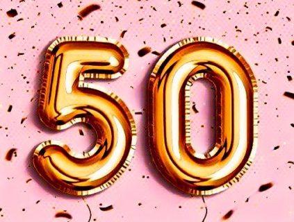 祝50記事 (ブログ3ヶ月で達成)