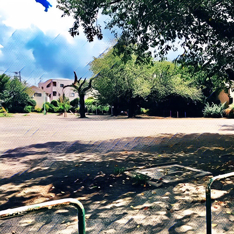 千葉県柏市の風景 高野台児童遊園B