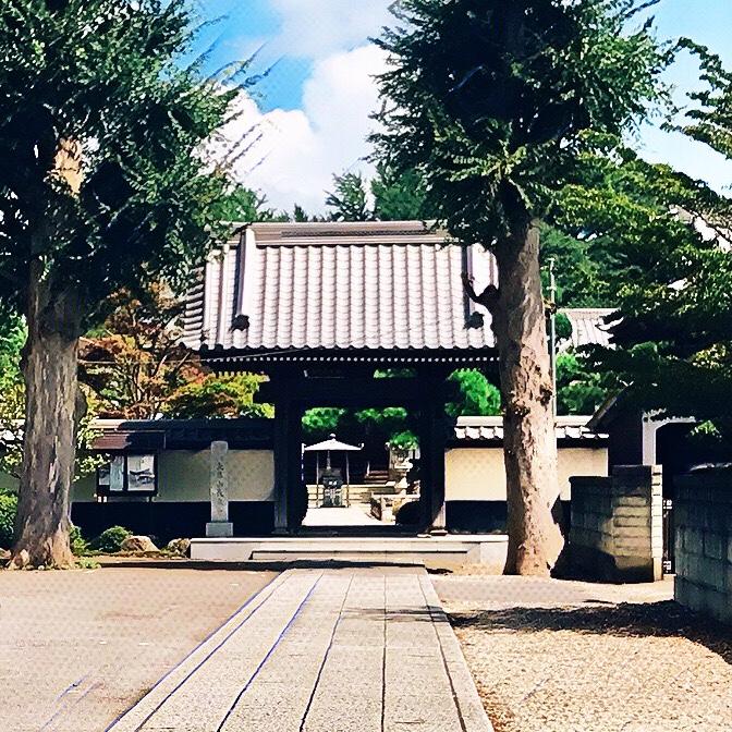 千葉県柏市の風景 5 長泉寺