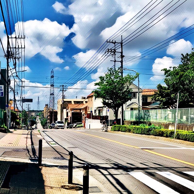 千葉県柏市の風景 7 富勢坂
