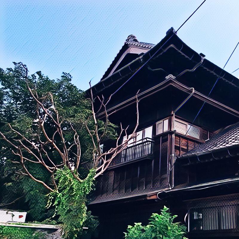 千葉県柏市の風景 6 長泉付近の家屋