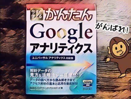 Googleアナリティクスの解説書を買った