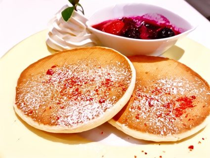 山手線大塚駅のカフェ、Coco de teaのパンケーキがおいしい 1