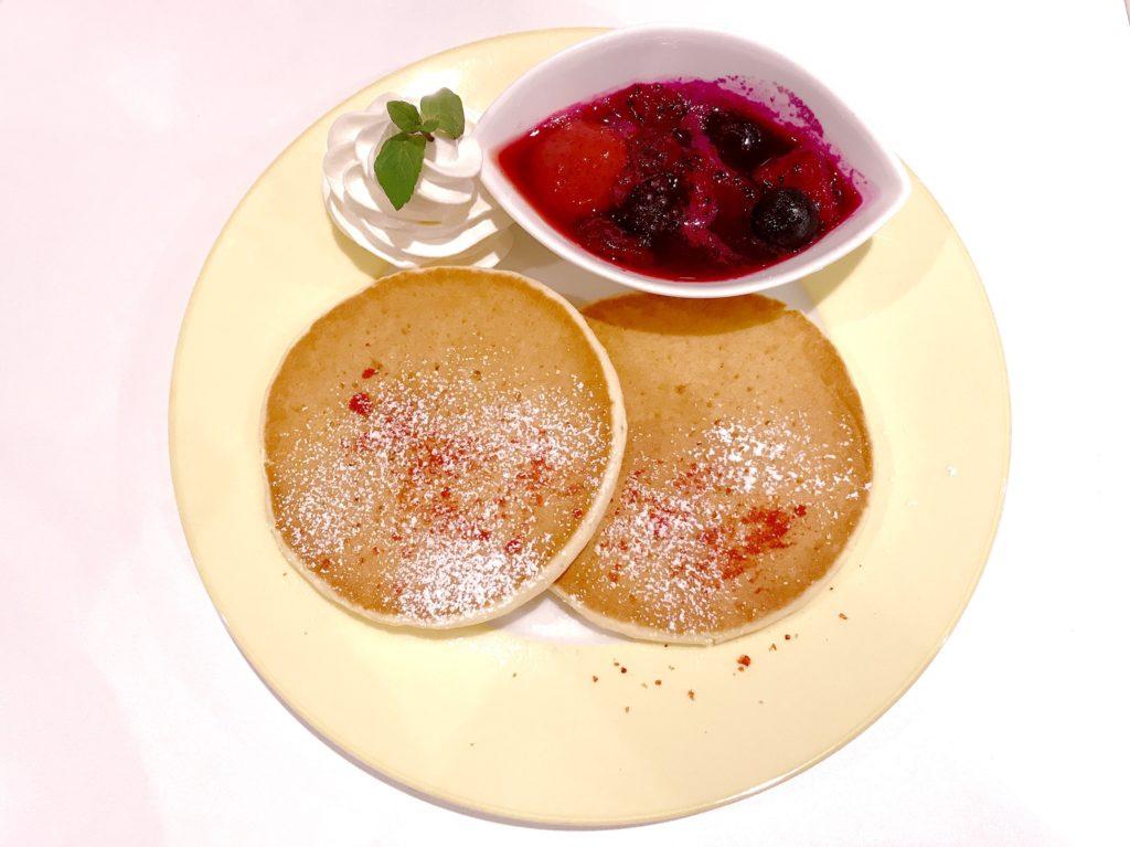 山手線大塚駅のカフェ、Coco de teaのパンケーキがおいしい 2