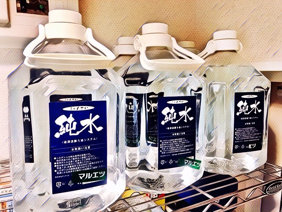 加湿器の水ぬめり対策には、スーパーの「浄水」が効果あった 2